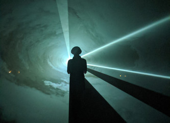 """Anthony McCall: Dark Rooms, Solid Light."""