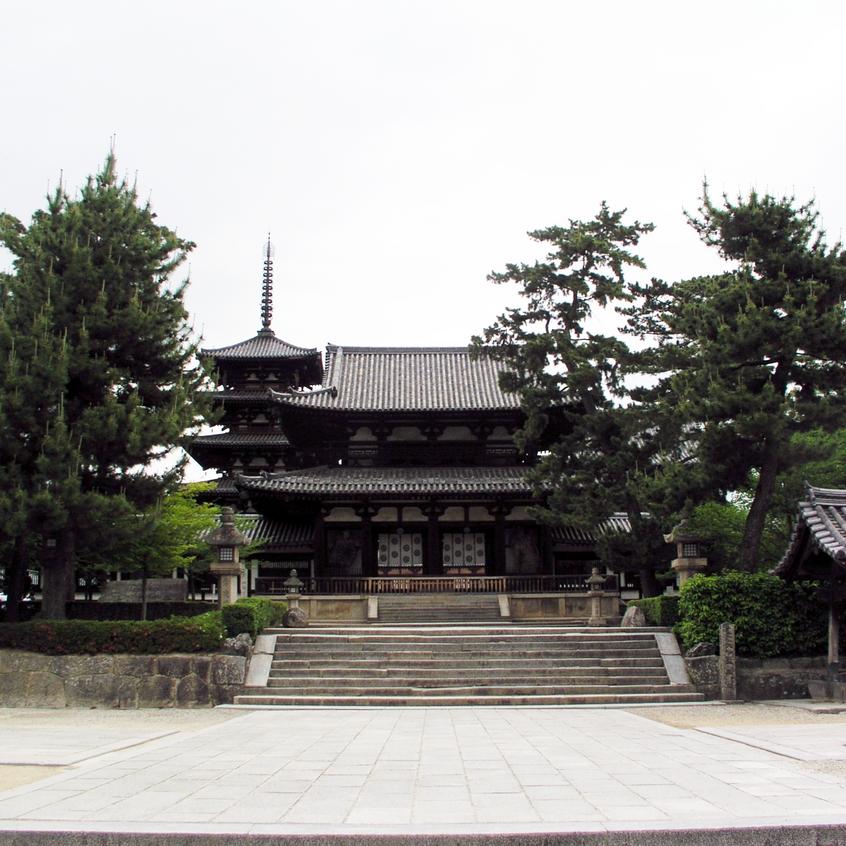 Hōryū-ji Temple, Nara, Japan