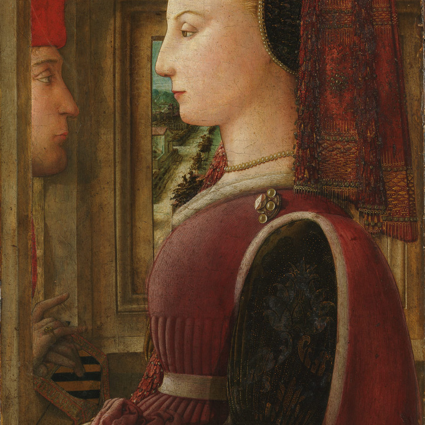 Portrait of a Woman and Man