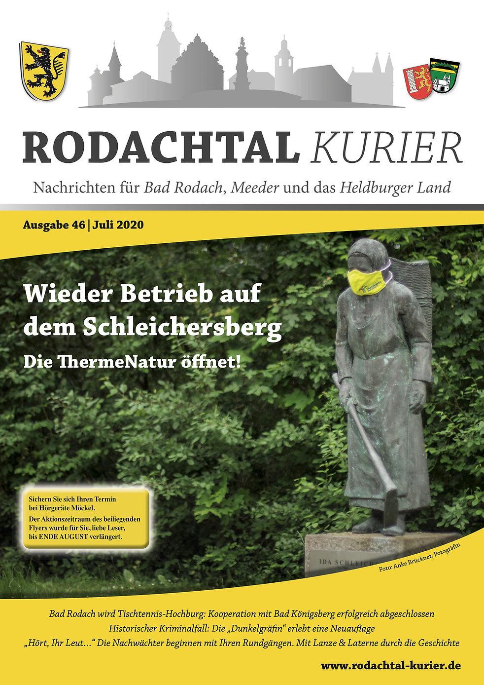 Rodachtal Kurier Juli 2020
