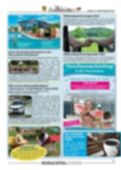 Therme Natur Bad Rodach Aktionen im Sommer 2016 August und September