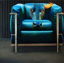 Chair No.11 (Corbusier cassina lc2)