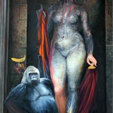 oil on canvas 180 x 110 cm