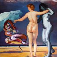 Drei Grazien - Rubens trift Bacon