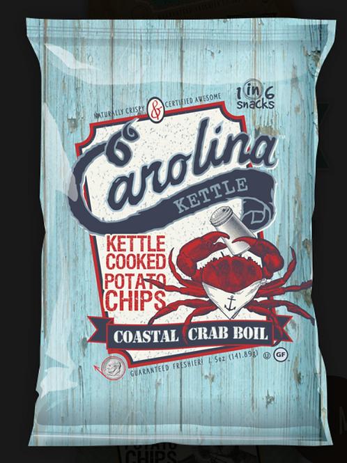 Carolina Kettle Chips - Coastal Crab Boil