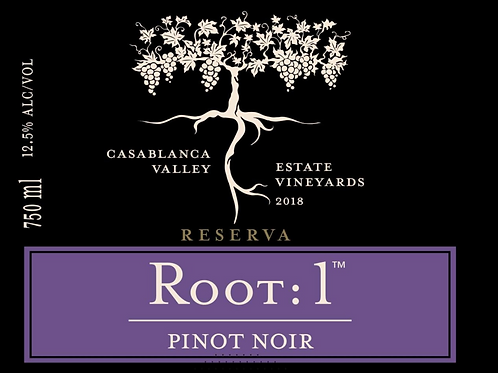 Root 1 Pinot Noir, Chile 2018