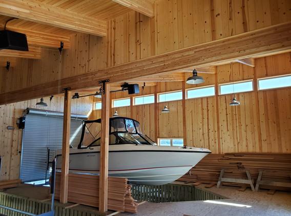 Boathouse/Sauna