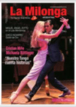 "Experience tango Cristian Miño Michaela Böttinger ""Nuestro tango cuenta historias"" La milonga"