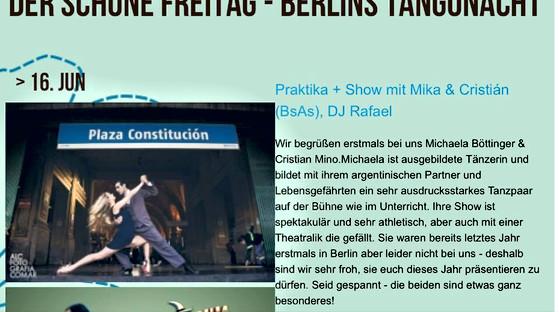 Tango tanzen macht schön, Berlin