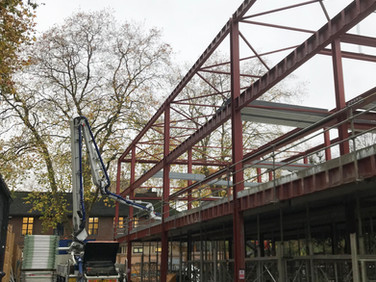 Coram Queen Elizabeth II Centre taking shape