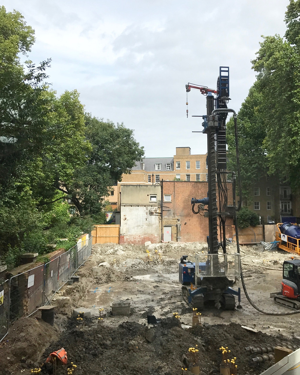 The Queen Elizabeth II Centre for Coram is under construction with piling well underway.  See our project page for more information.