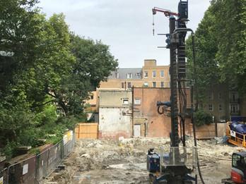 Coram Queen Elizabeth II Centre under construction