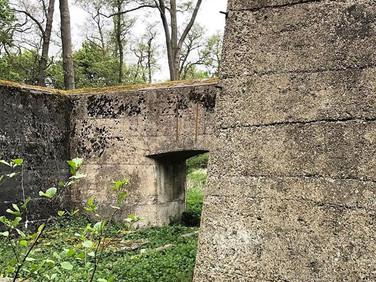 Early concrete construction at Royal Gunpowder Mills