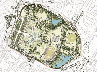 We are delighted to be working on Crystal Palace Park again