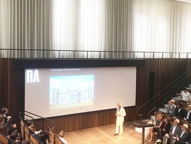 Norman Foster at the Royal Academy