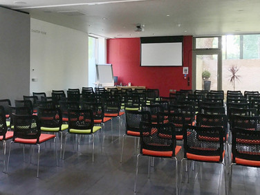 Great to see Coram's Visitor Centre ready for a lecture.