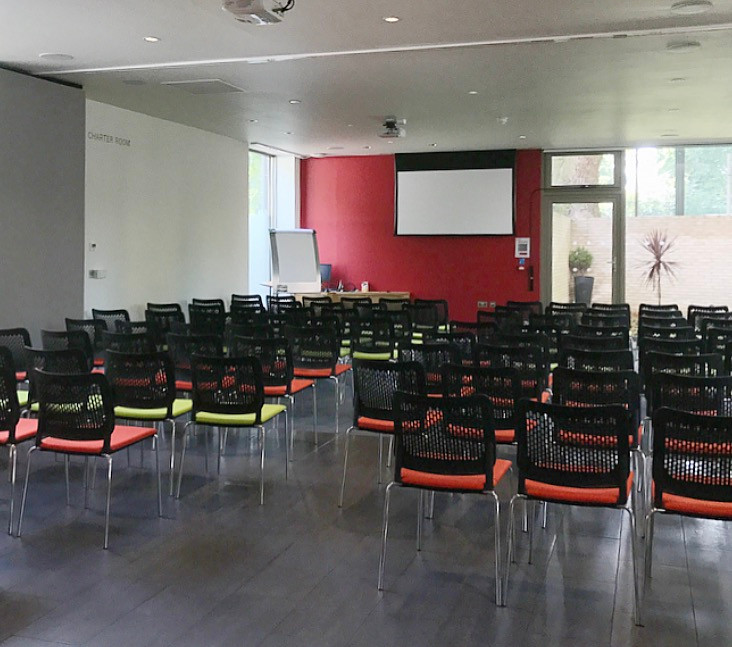 Great to see Coram's new visitor centre in action and set up for a lecture.