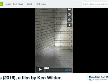 'Skylights'. A film by Ken Wilder