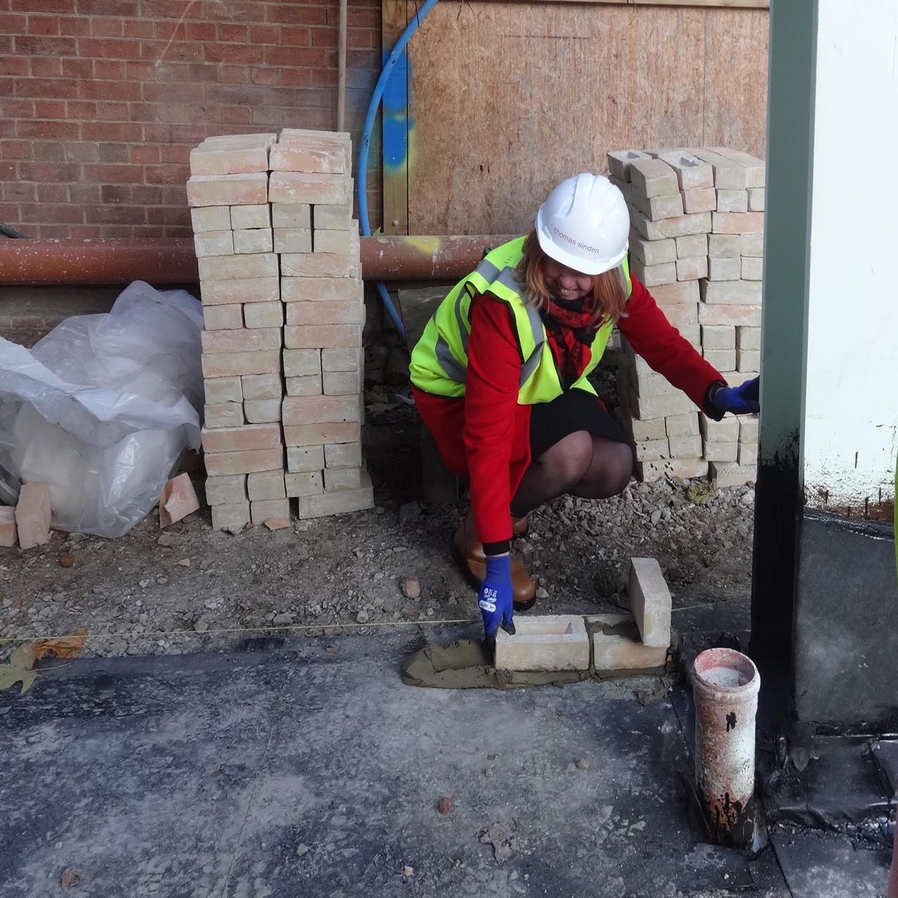 Brick laying 001