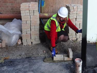 First bricks laid at Coram Queen Elizabeth II Centre
