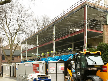 Coram Queen Elizabeth II Centre Under Construction