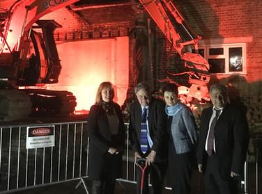 Coram Queen Elizabeth II Centre Ground Breaking Ceremony