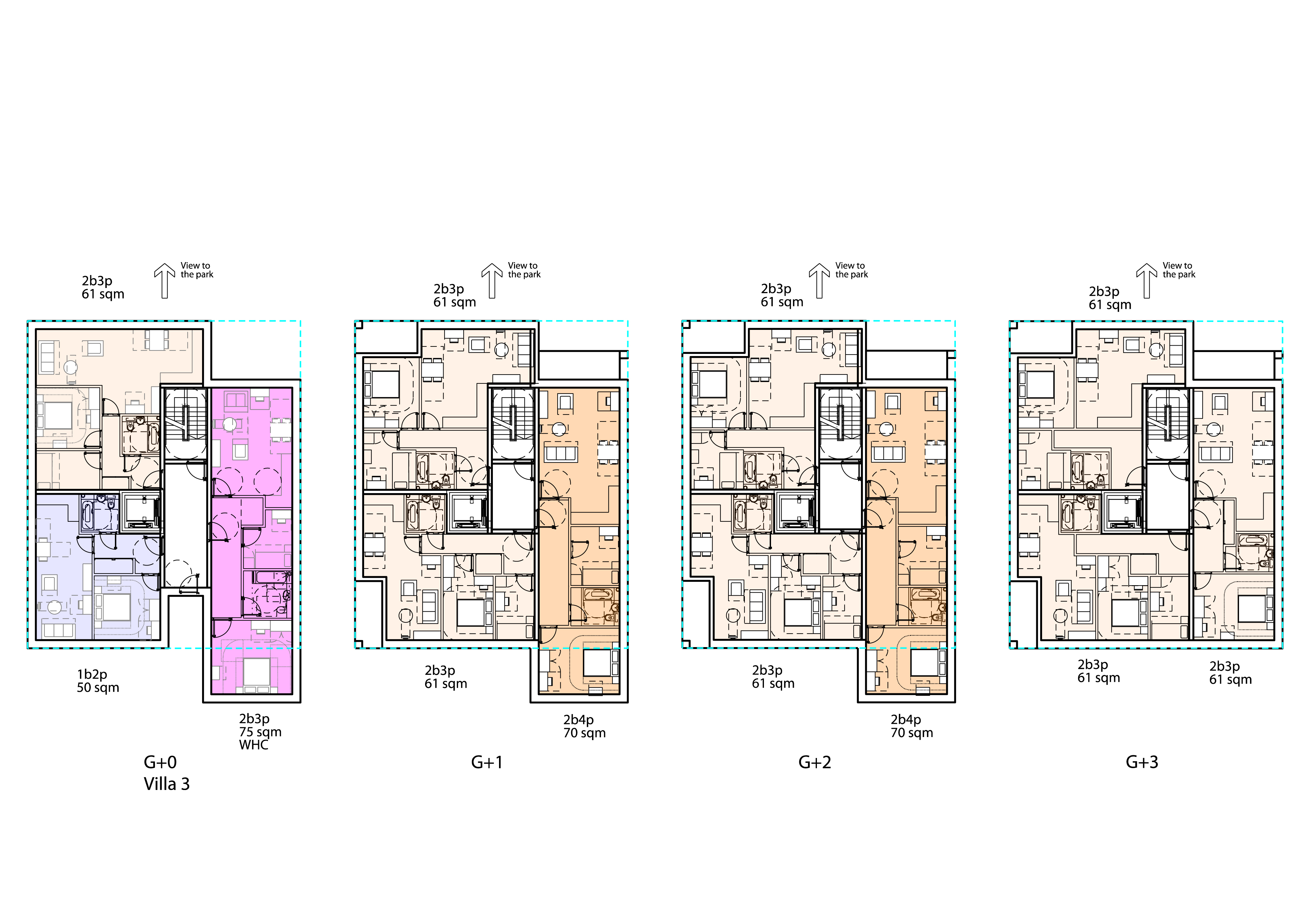 Sydenham Villas Sketch Plans
