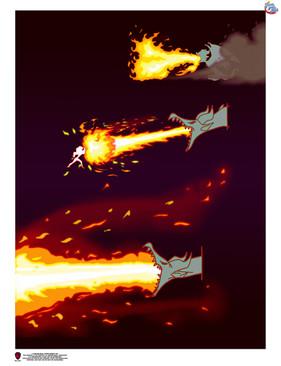 Demon Dragon Fire Breath