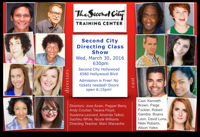 SC Directing Class Show