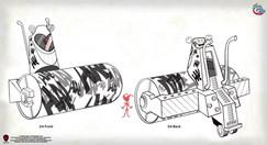 Joker Steam Roller design