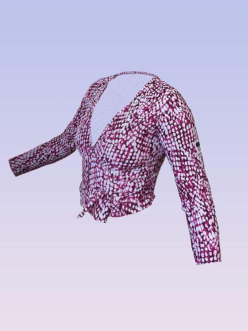 Pink Seaway wrap top