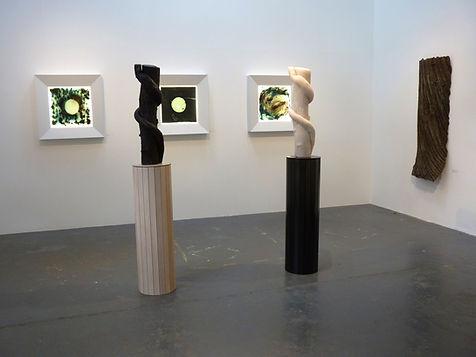 Installation View, works by Foundry/ Gallery Owner, Simon Allison, Lockbund Gallery.