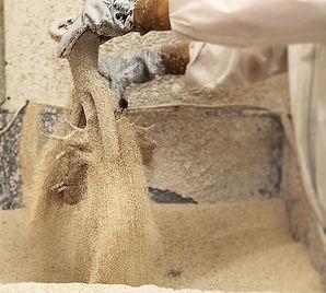 Ceramic shell process Lockbund
