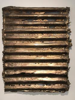 Washboard / Bronze on Canvas