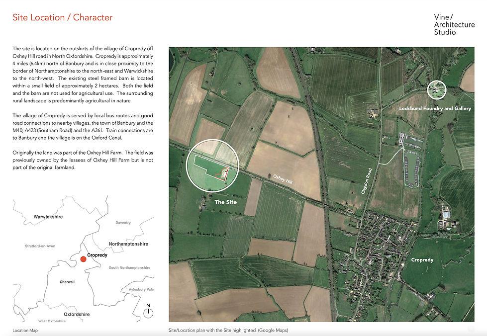 Far Far Gallery Site Location and Character, Lockbund Gallery conversion.