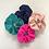 Thumbnail: Hot Pink Silk Scrunchie