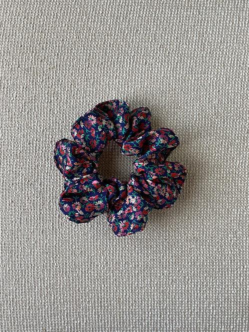 Silk Floral Hair Scrunchie