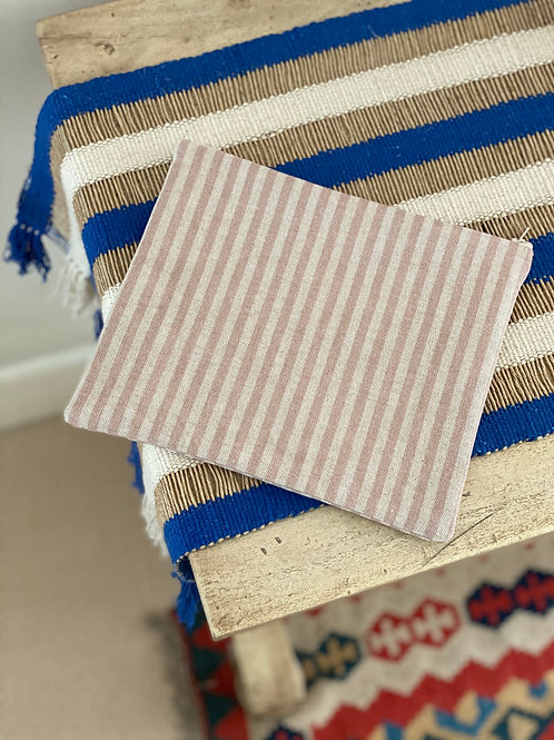 Striped Pouch (Cotton Lined)