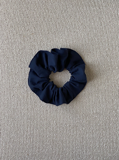 Navy Blue Hair Scrunchie