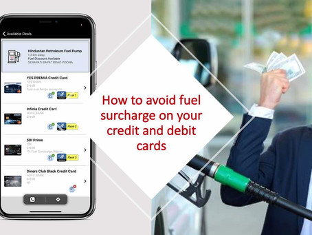 How to avoid fuel surcharge on your credit and debit cards