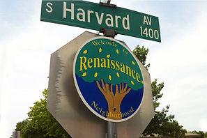Renaissance Neighborhood Sign