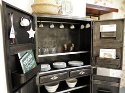 Armoire de cuisine vintage - inspiration