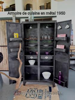 Armoire de cuisine 1950
