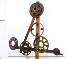 Sculpture engrenage n°1 P.L.