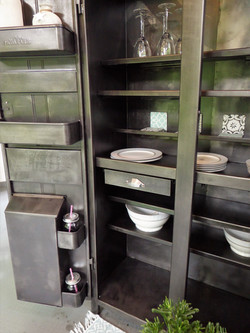 ©Meuble de cuisine années 50