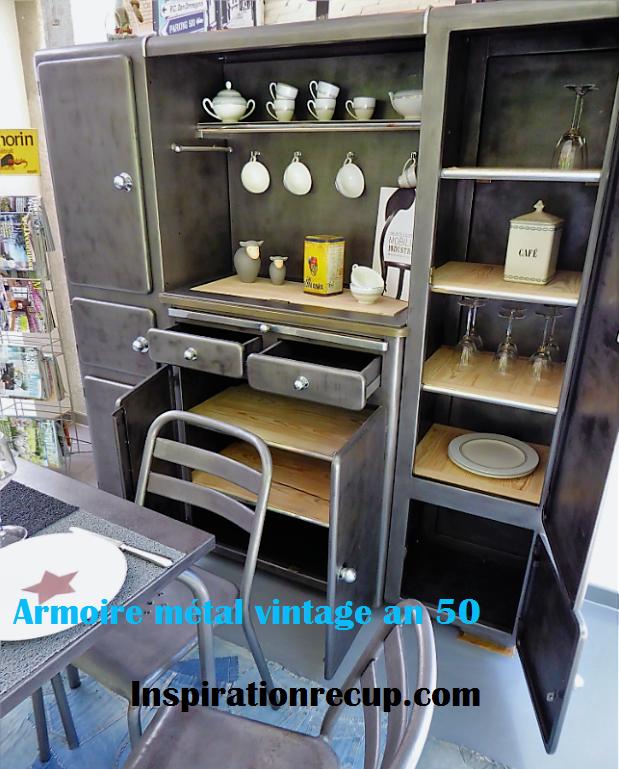 Armoire industrielle an 50' vintage