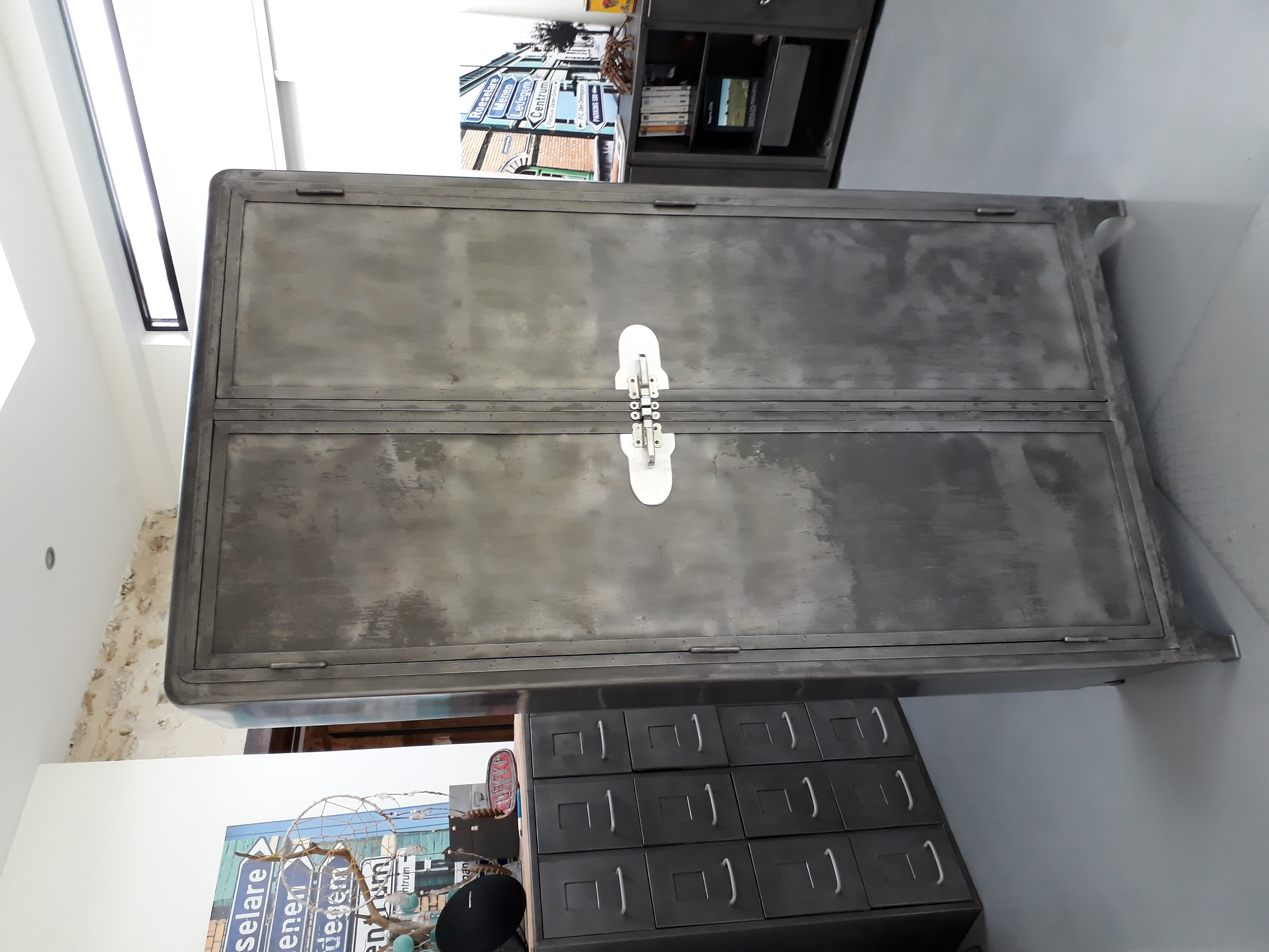 Armoire métal an 50' vintage