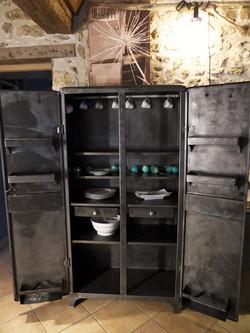 Armoire industrielle vintage an 50'