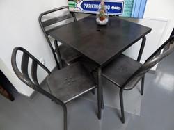 Table bistro en métal an 50'