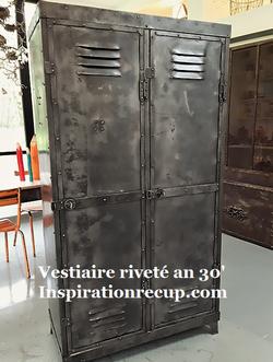 Vestiaire riveté des années 30' - inspir